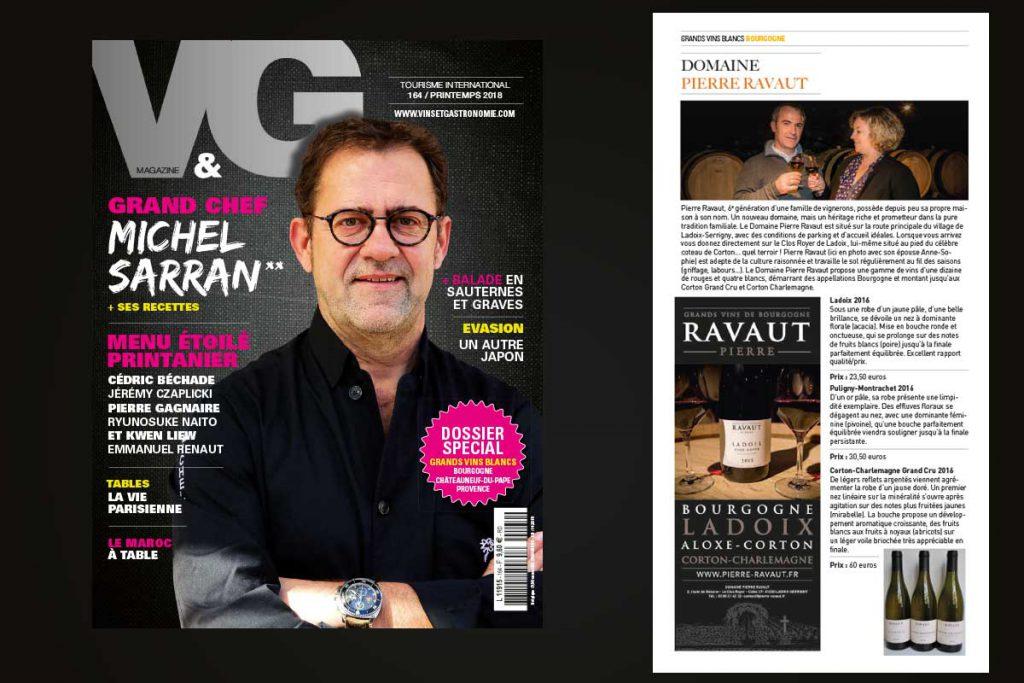 Magazine Vins et Gastronomie