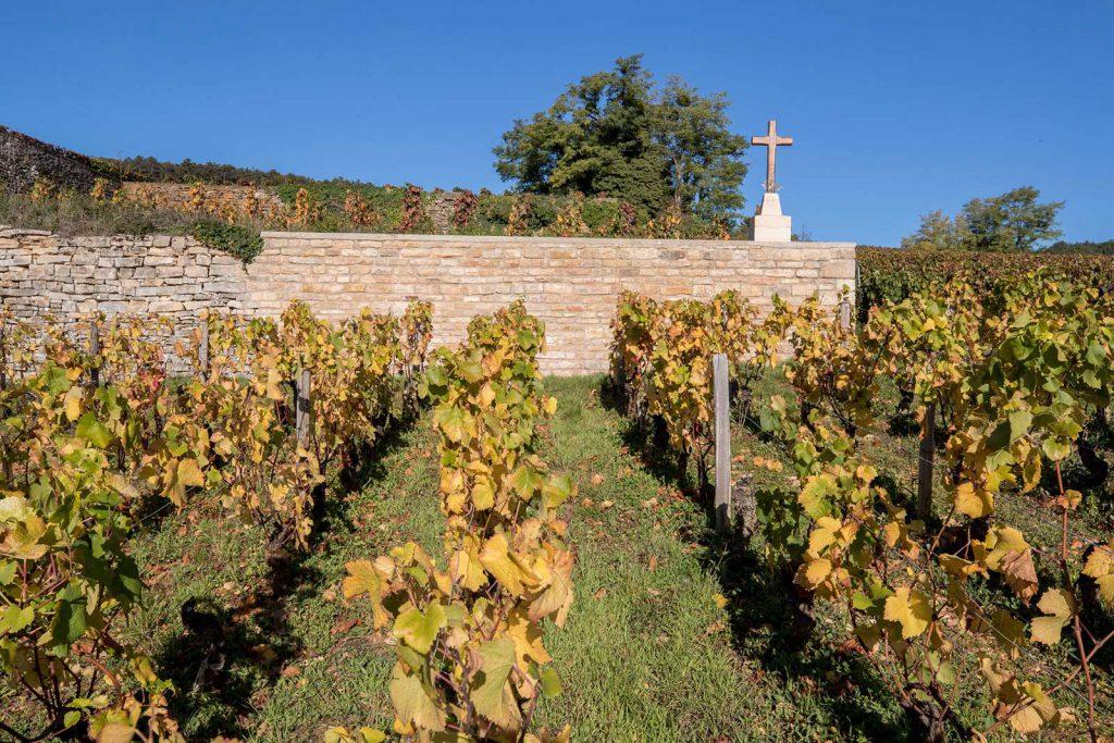 Croix du Bois Roussot: la bénédiction